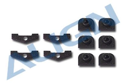 Picture of HS1232 Anti Rotation Bracket Spacer and servo nuts