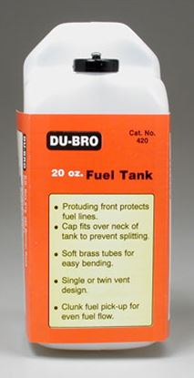Picture of Du-Bro 420 Fuel Tank 20oz
