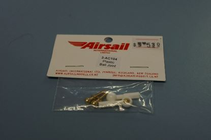 Picture of Airsail 3-ac104 Snap On Ball Ends, 1 x pair