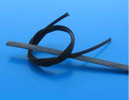 Picture of HA091-07 Servo Mesh wrap 1 meter black with heat shrink