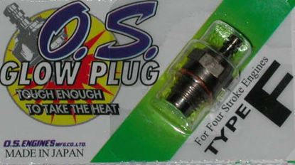 Picture of OS Engines Type F Glow Plug 4-Stroke Medium