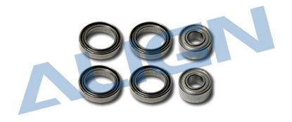 Picture of H50099 Bearing(MR128/684ZZ) 8x12x2.5mm/ 4x9x4mm