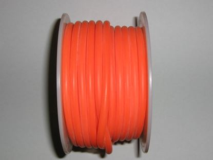 Picture of Ming Yang 286-O Orange Silicon Fuel Tube