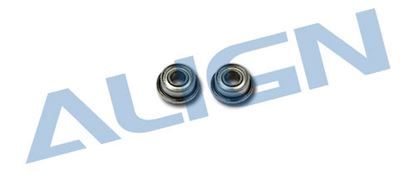 Picture of HS1288 Bearing(FMR52ZZ) 2x5x6x2.3mm