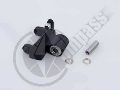 Picture of CM02-0261Z Tail pitch lever set w/ BB, collar & bolts