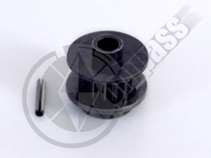 Picture of CM02-0262S Tail rotor pulley w/ spring pin