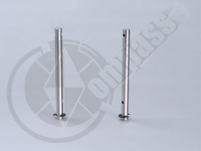 Picture of CM02-0233S Counter gear shaft with E-Clip