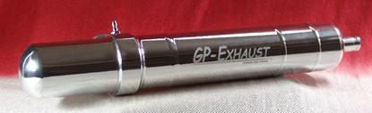 Picture of GP-Exhaust GPE 385110 Nitropower 55 Pipe - Silver
