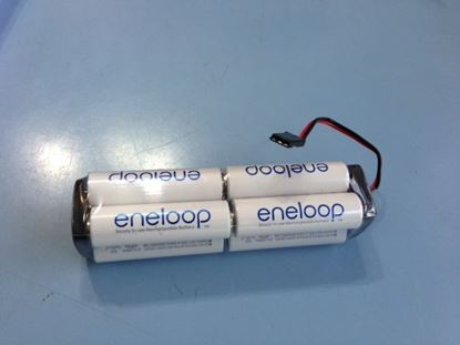 Picture of Eneloop ENE96-FUT-S 2000mAh 9.6v Futaba TX square Battery