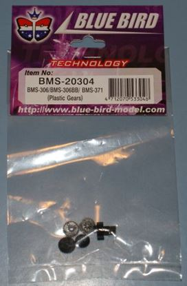 Picture of Blue Bird 20304 Plastic Gear Set BMS-306, BMS-306BB, BMS-371