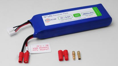 Picture of Hyperion HP-FG320-3800-2S Receiver Battery LiFePO4 6.6V 3800mAh