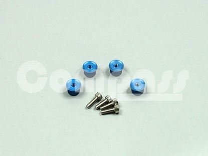 Picture of CM02-0810SB Canopy Bolts/Thumbscrews (Blue)