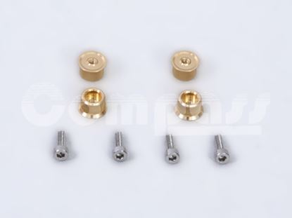 Picture of CM02-0810SG Canopy Bolts/Thumbscrews (Gold)