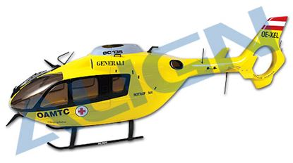 Picture of HF4501 450 EC-135 Scale Fuselage