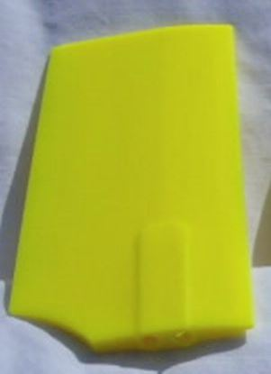 Picture of KBDD 4213 Plastic Neon Yellow Paddles for 500 size heli 2.5mm