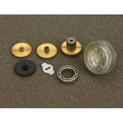 Picture of JR 03990 metal gear set for 713 Retract Servo