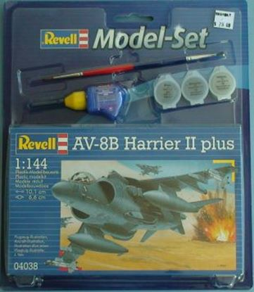 Picture of Revell 64038 1/144 AV-8B Harrier II plus Model Set