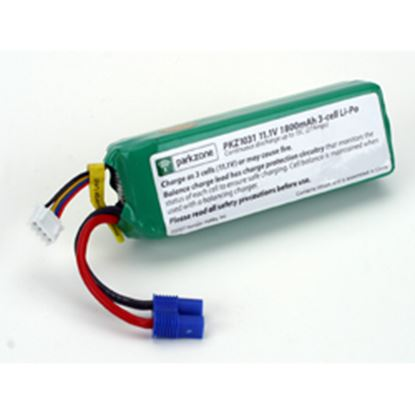 Picture of ParkZone PKZ1029 11.1V 2200mAh 25C LiPo Battery