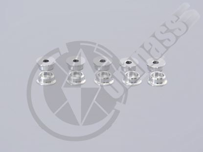 Picture of CM05-0807S Screw Caps/Washers Silver M3