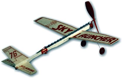Picture of Guillow's No.76 Sky Launcher balsa plane
