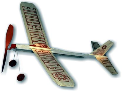 Picture of Guillow's No.75 Flying Machine balsa plane