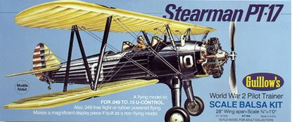Picture of Guillow's No.803 STEARMAN PT-17 Scale Balsa Kit