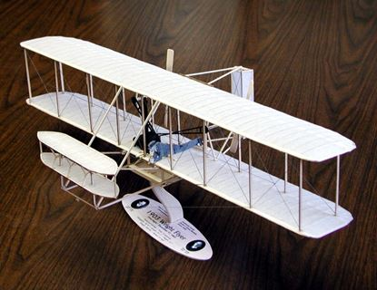 Picture of Guillow's No.1202  1903 Wright Flyer Scale Balsa Kit