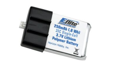 Picture of E-Flite EFLB2501S20 250mAh 20C 1-Cell 3.7V Li-Po