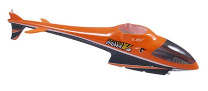 Picture of E-Sky 002516 - Esky Lama V4 Fuselage /w 3 LED lights - Orange