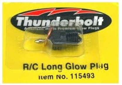 Picture of Thunderbolt 115493 R/C Long Glow Plug HOT