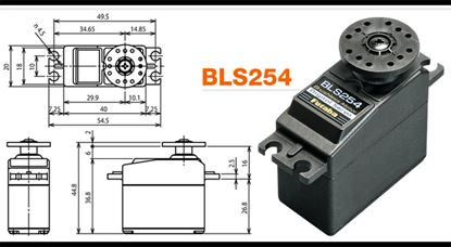 Picture of Futaba BLS254 Brushless Rudder Servo