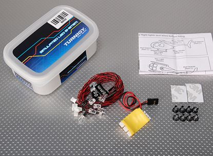 Picture of Turnigy 8850 R/C LED Lighting System