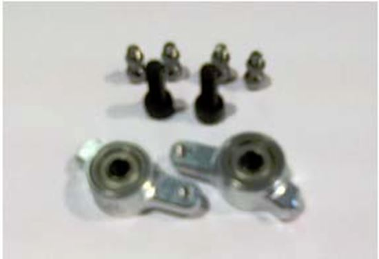 Picture of Kasama KSM10-H12 4mm Compensate Arm set competition edition V1