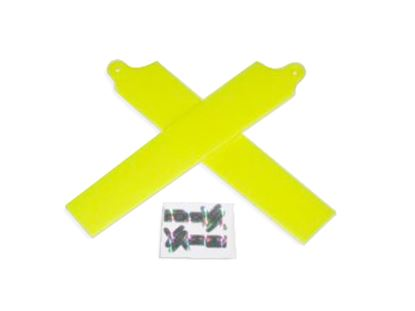 Picture of KBDD 5001 Extreme Edition Blades for Blade mCPX - NEON YELLOW