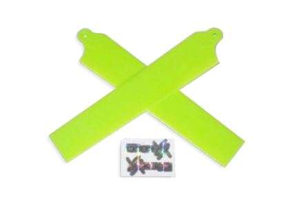 Picture of KBDD 5002 Extreme Edition Blades for Blade mCPX - NEON LIME