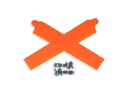 Picture of KBDD 5003 Extreme Edition Blades for Blade mCPX - NEON ORANGE