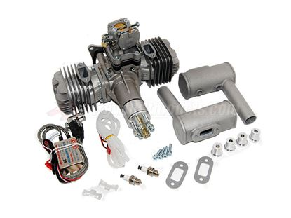 Picture of DLE-111 111cc Twin Cylinder Gas Engine