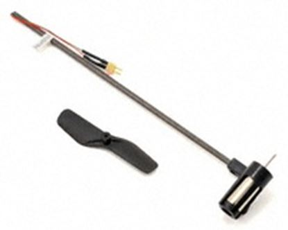 Picture of E-Flite BLH3202 Blade MSR X Tail Boom Assembly w/Tail Motor