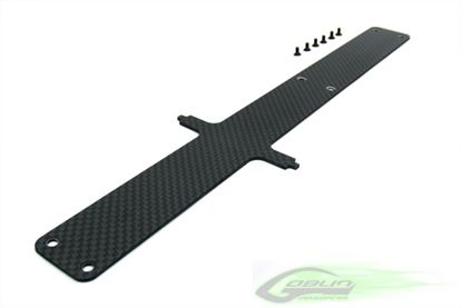 Picture of SAB H0002-S Carbon Fiber Battery Tray - Goblin 700