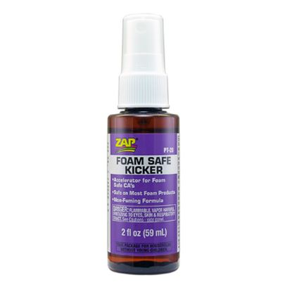 Picture of ZAP PT28 CA Glue - ZAP Foam Safe Kicker 59ml