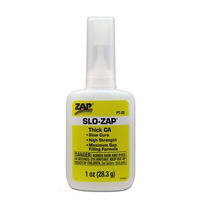 Picture of ZAP PT20 CA Glue - Slow-ZAP 1oz Thick Viscosity