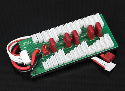 Picture of Parallel charging Board for 6 packs 2-6S (Deans) 24230