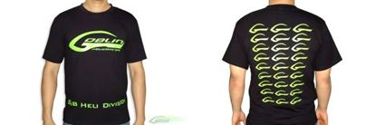 Picture of HM018-M SAB HELI DIVISION Black T-Shirt - Size M