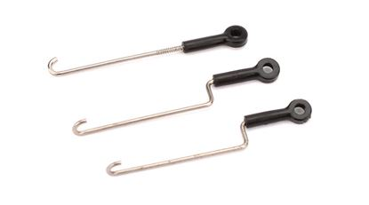 Picture of E-Flite BLH3308 Servo Pushrod Set with ball links: nCP X