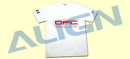 Picture of HOC00204-6 Flying T-shirt(DFC)-White (2X Extra Large)