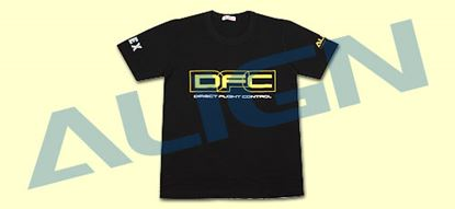 Picture of HOC00205-4 Flying T-shirt(DFC)-Black (Large)