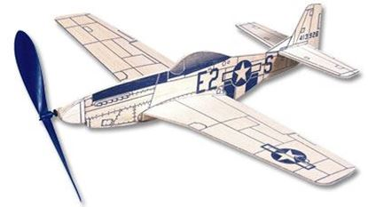 Picture of West Wings WW417 P-51 Mustang (Rubber Band Powered)