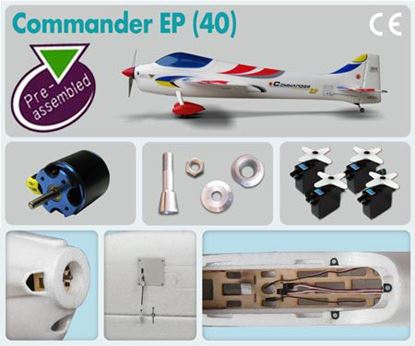 Picture of The Wings Maker GM049P COMMANDER EP (40) (Pre-assembled Combo)