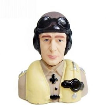 Picture of P202 1/6 Scale WWII Germany Pilot Statues/Pilot Portrait