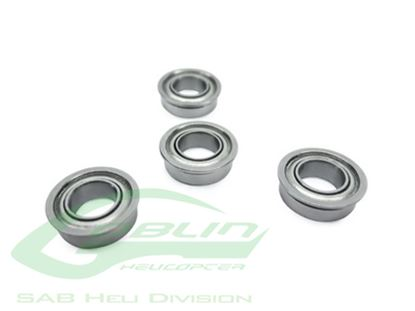 Picture of SAB HC412-S ABEC-5 Flanged Bearing 5x13x4 (4pcs) Goblin 500